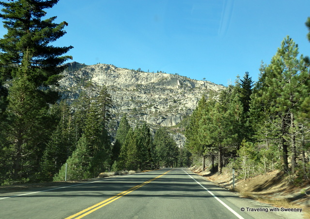 """On the way from South Lake Tahoe to El Dorado County on Highway 50"""