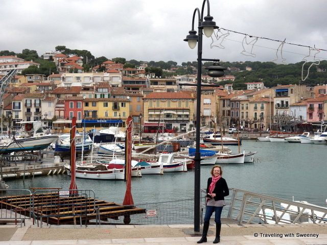 """Enjoying a stroll around the seaside village of Cassis in December, a highlight of Provence"""