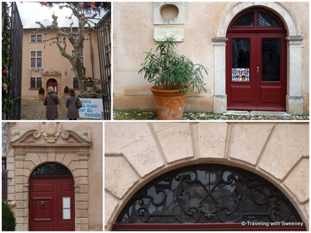 """Historic Hôtel de Ville and offices of the mayor in Cassis"""