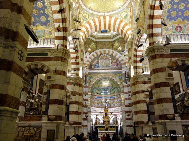 """""""Basilica Notre Dame de la Garde, Marseille, France"""""""