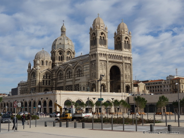 """La Major Cathédrale, Marseille, France"""