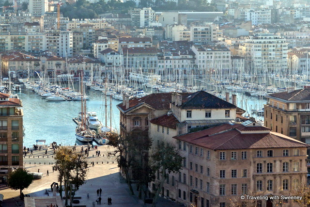 """Vieux Port, the old port of Marseille"""