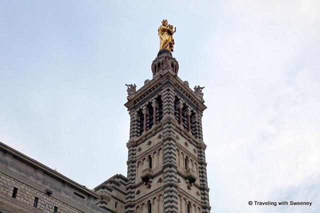 """Basilique Notre Dame de la Garde, Marseille, France"""