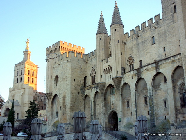 Cathedral of Notre Dame des Doms and Palais des Papes (Palace of the Popes), Avignon