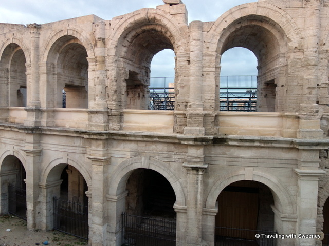 Roman arena and amphitheater in Arles