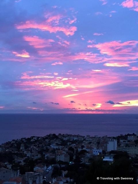 Sunset over the Mediterranean Sea