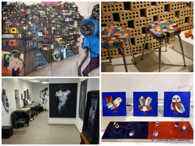 """""""Diversity of art expression in Le Panier, Marseille"""""""