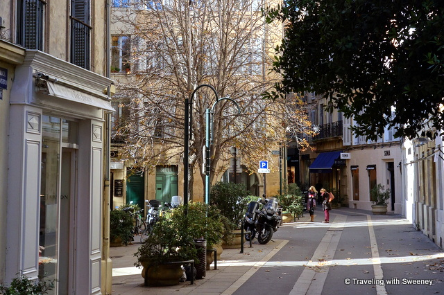 Aix-en-Provence scene