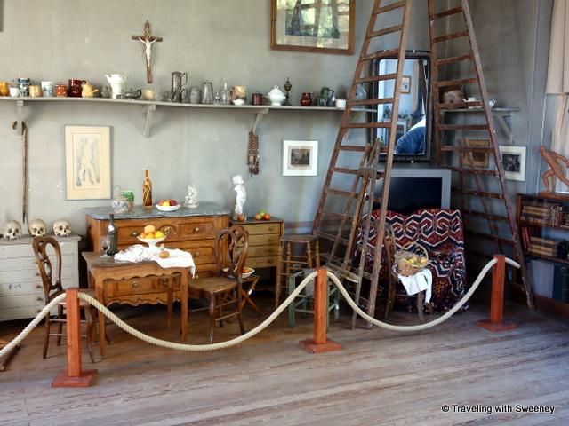 Cezanne studio artifacts