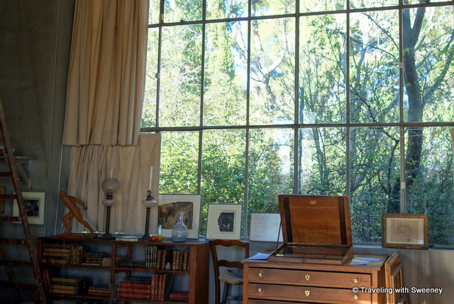 Cezanne studio window