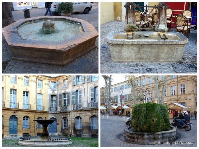 Fountains of Aix-en-Provence