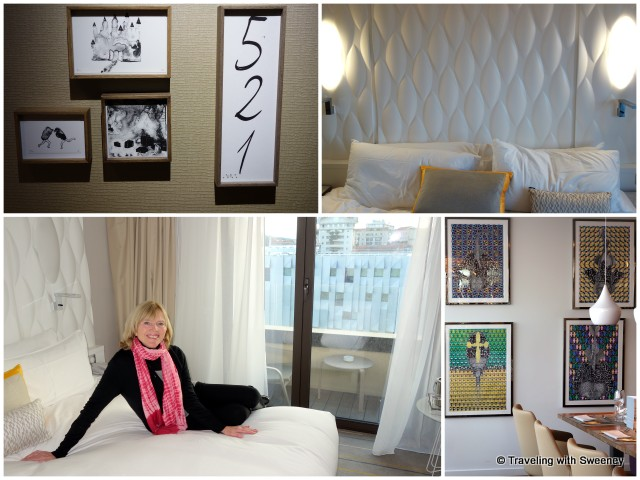 Room 521 at Renaissance Aix-en-Provence Hotel, art in the hotel's Le Comptoir du Clos restaurant