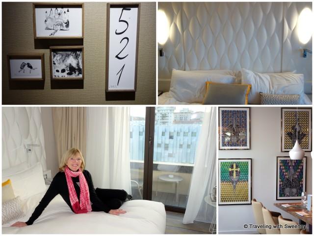 Room 521 at Renaissance Aix-en-Provence Hotel, art in the hotel's Le Comptoir du Clos restaurant