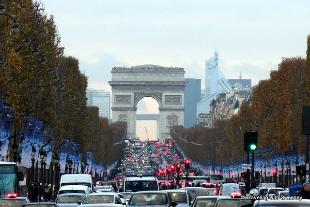 Arc de Triomphe on the Champs-Élysées