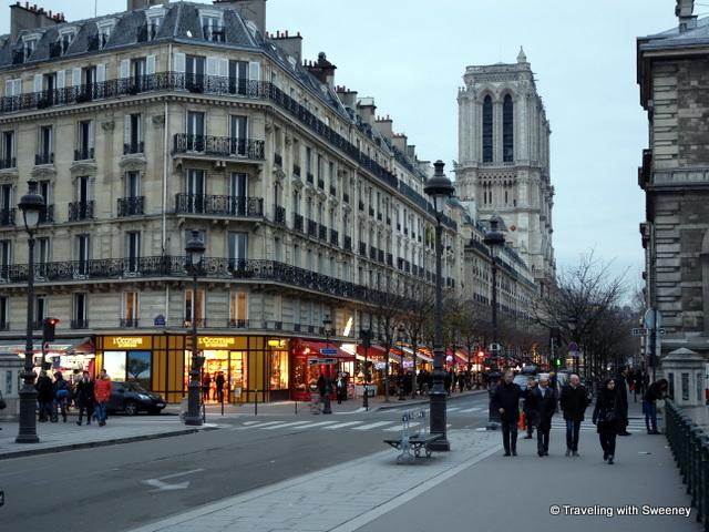 Wandering Paris with Sweeney
