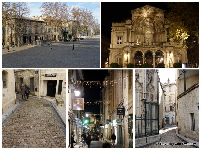 Walking around Avignon