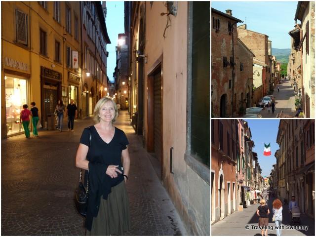 Strolling the streets of Lucca, Certaldo Alto and Pietrasanta, Tuscany, Italy
