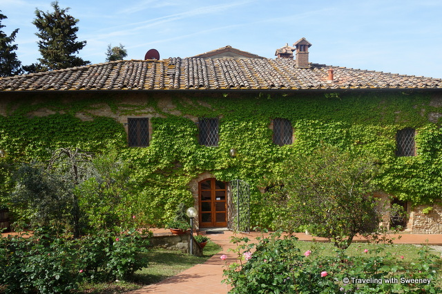 Arriving at La Novellina, a luxury villa in northern Tuscany