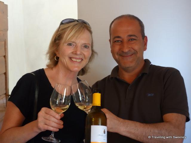 With Massimo Castagnozzi at Pasolini dall'Onda in Barberino Val d'Elsa