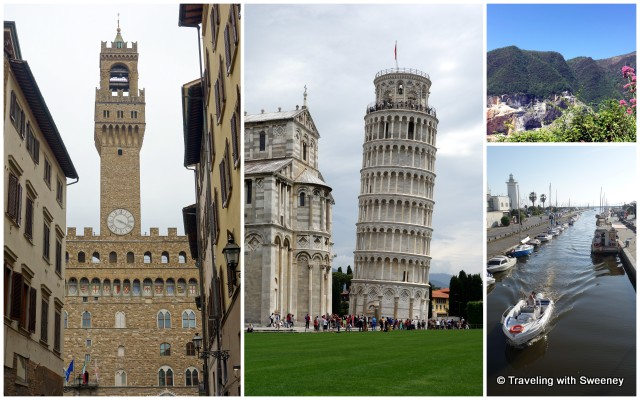 Florence, Pisa, quarries of the Apuan Alps and Viareggio and other sites in Tuscany are convenient for day trips from Villa Buonvisi