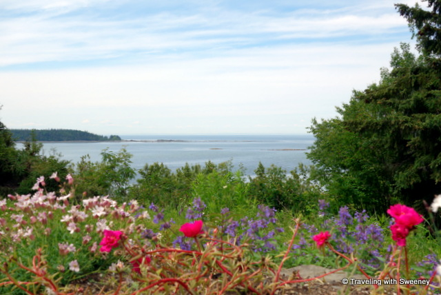 The beauty of maritime Québec along the St. Lawrence River at Reford Gardens in Grand-Métis, Québec
