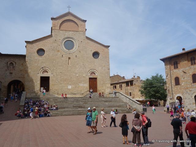 Piazza del Duomo and Basilica Collegiata di Santa Maria Assunta