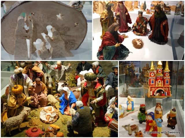 Santons and ceramics from around the world at La Cite de l'Art Santonnier in Aubagne, France