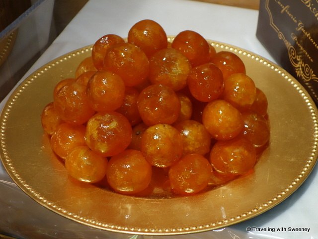 Gorgeous and sweet candied fruit, one of the key 13 desserts of a Provencal Christmas
