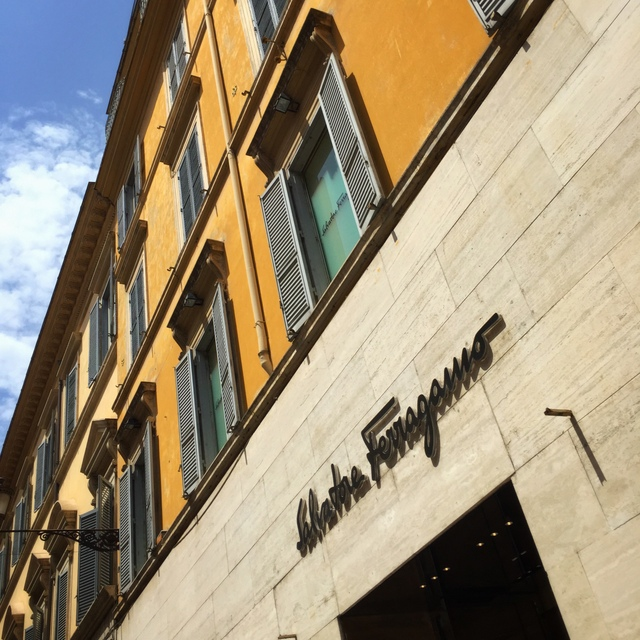Ferragamo on Via Dei Condotti, Rome