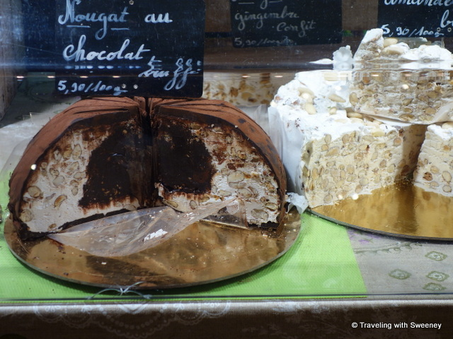 Varieties of nougat, one of the traditional Christmas 13 desserts