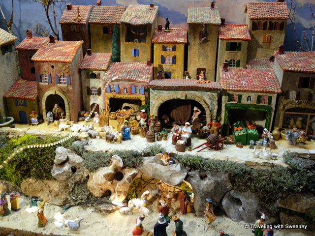 Crèche created by Henri Angiolini installed at the Musée Grévin in Salon-de-Provence, France (2014)