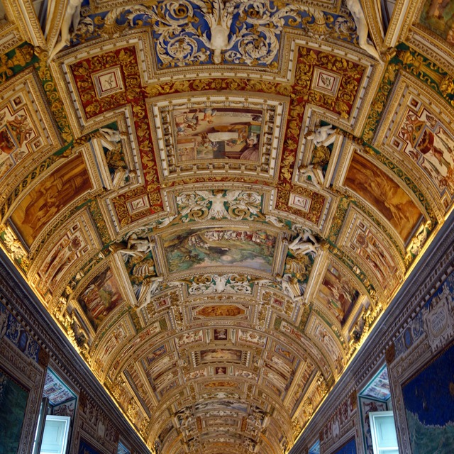 The Gallery of Maps, Vatican Museums