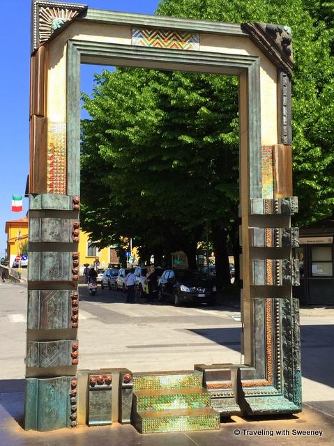 Doorway of Peace in Pietrasanta, Italy