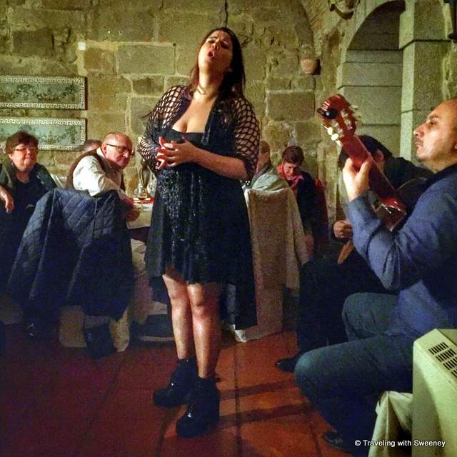 Live fado performance at Alpendurada Monastery - from our Portugal Instagram photos