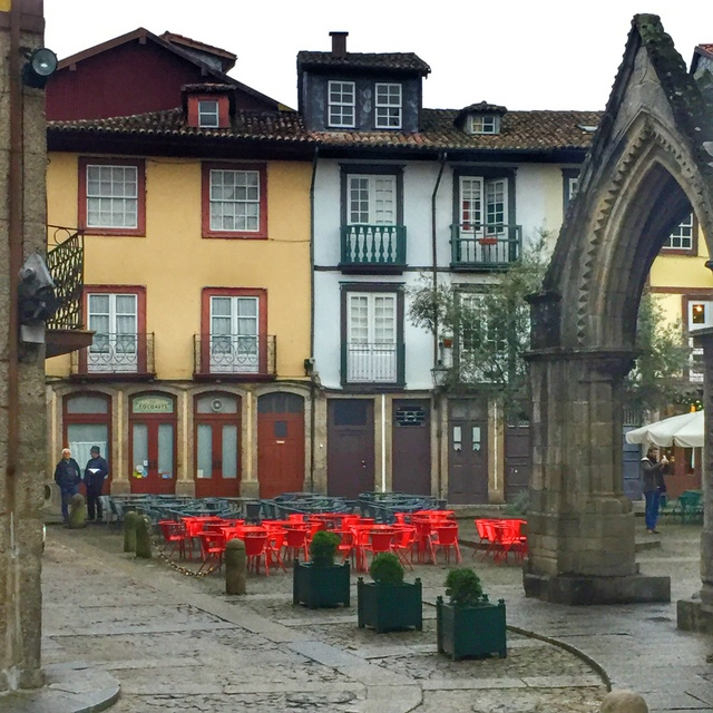 Medieval city center of Guimarães - from our Portugal Instagram photos