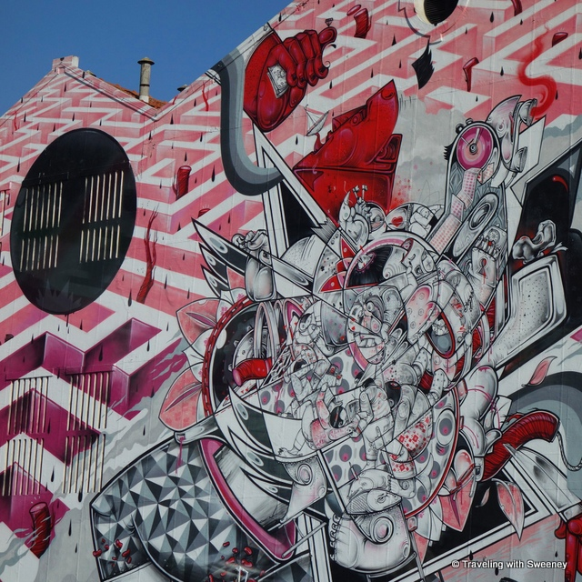 Super street art of Lisbon - from our Portugal Instagram photos