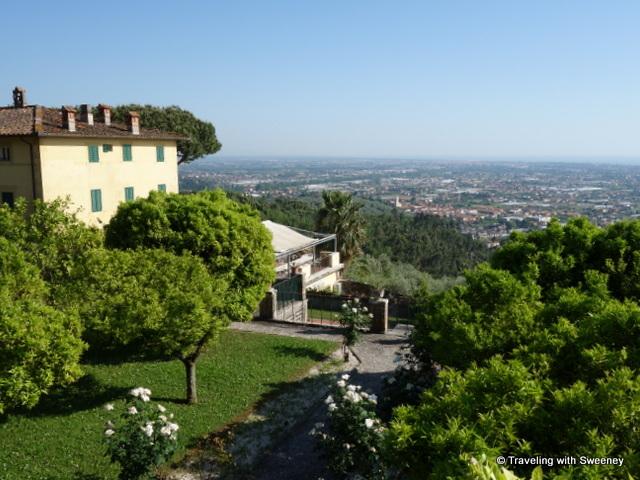 Gardens and views of Villa Sant' Andrea