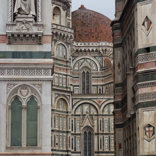 Stunning facade of the duomo in Florence, Italy -- Tuscany on Instagram