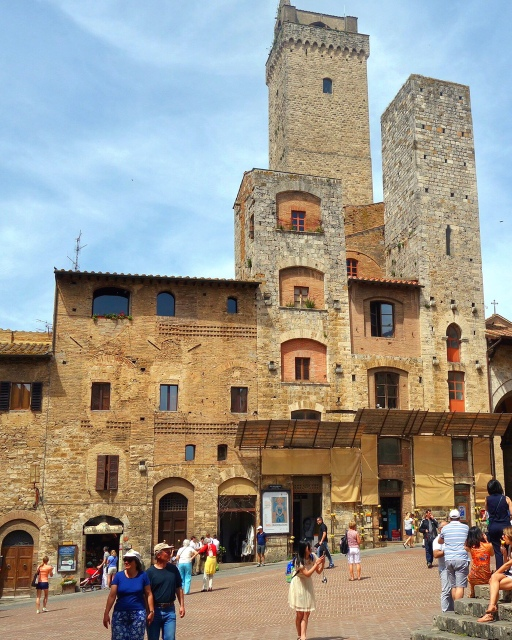 The tower town of San Gimignano, Italy -- Tuscany on Instagram