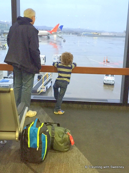 SFO watching planes