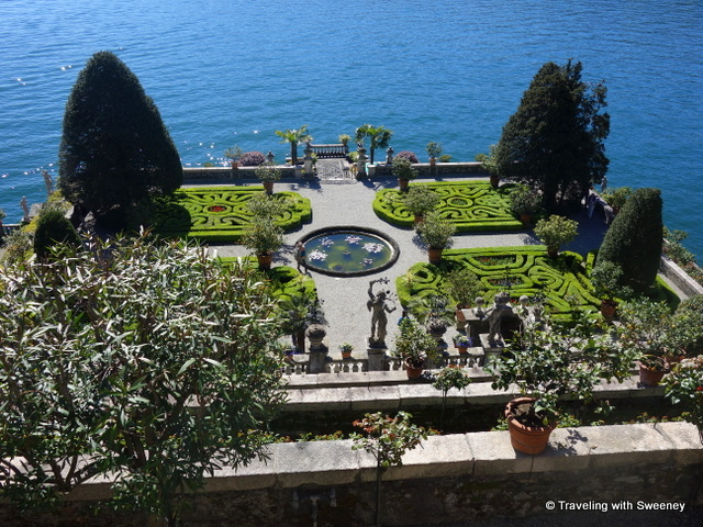 The Garden of Love on Lake Maggiore's Isola Bella