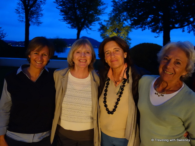 With Sara, Luisa, and Eva at Casa del Lago, an EsteVillas luxury holiday rental at Lake Maggiore