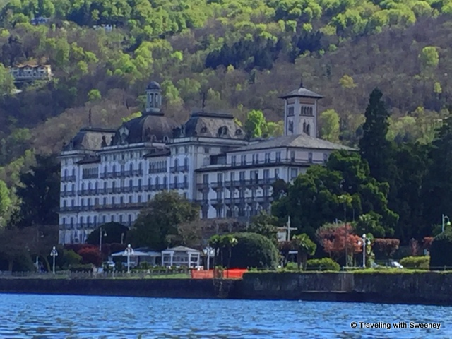 Grand Hotel des Iles Borromées in Stresa, Italy on Lake Maggiore