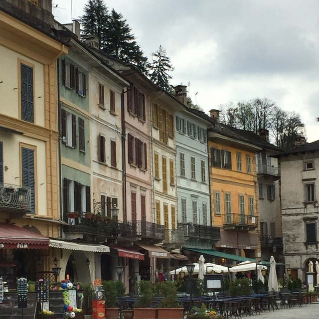 Orta San Giulio is a scenic side trip from Lesa, Italy to Orta San Giulio on Lake Orta