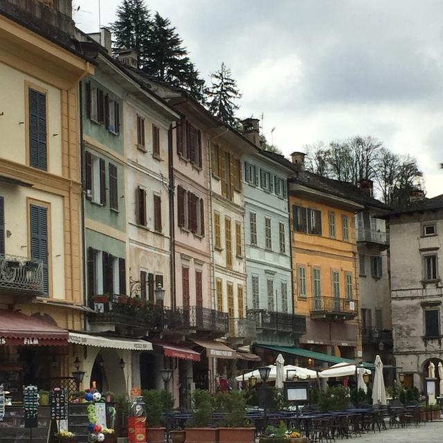 Orta San Giulio is a scenic side trip from Lesa, Italy to Orta San Giulio on Lake Orta