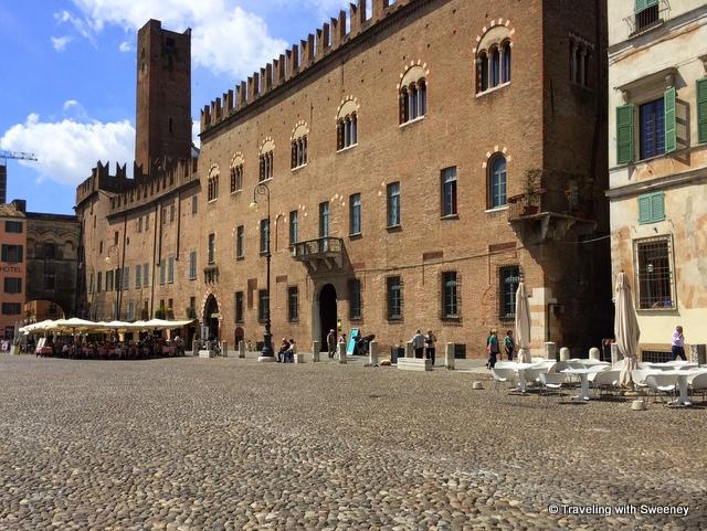 Palazzo Castiglioni on Piazza Sordello, Mantua