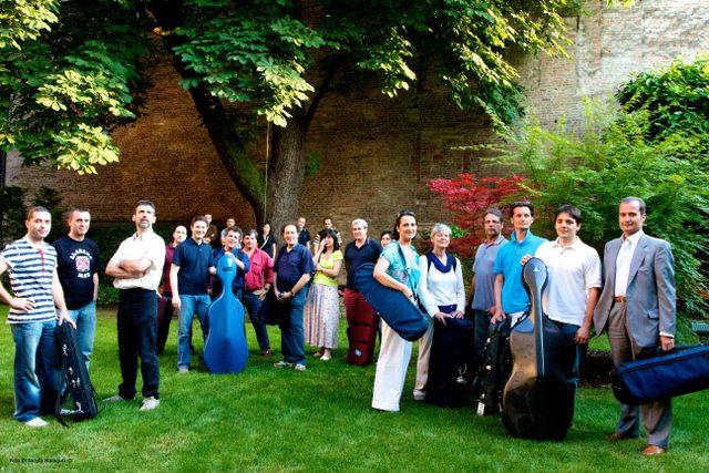 The Mantova Chamber Orchestra -- Photo credit: Nicola Malaguti