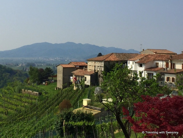 In the Cartizze hills along the Prosecco Road -- Veneto's Prosecco wine region