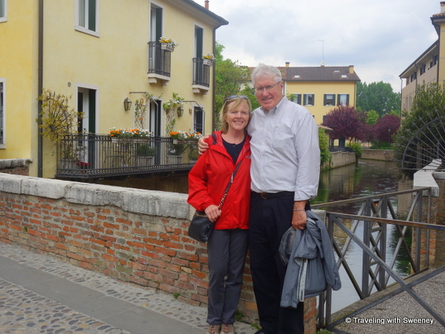 With Mr. TWS in lovely Treviso - a must-see Veneto city