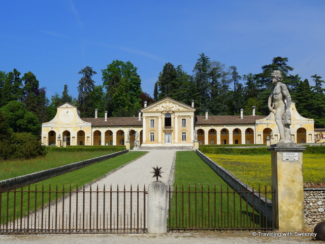 Villa di Maser designed by Andrea Palladio in the 16th century